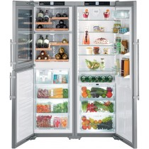 Side-by-side холодильник Liebherr SBSes 7165